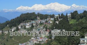 darjeeling town photo, darjeeling view