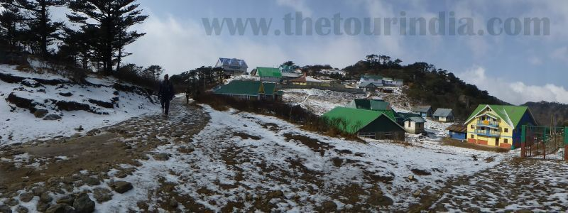 winter in sandakphu, sandakphu photo