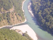 Triveni - the confluence of Teesta and Rangeet